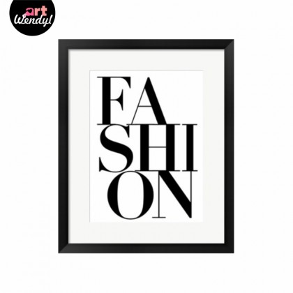 "Framed Art Print ""Fashion I"""