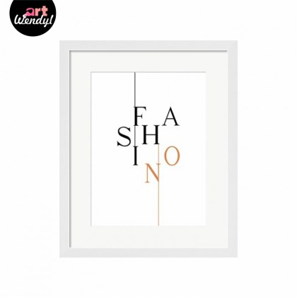 "Framed Art Print ""Fashion II"""