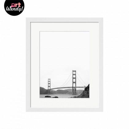 "Framed Art Print ""Golden Gate Bridge in San Francisco"""