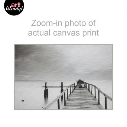 """Framed Art Print """"Life Journey - Bridge"""""""