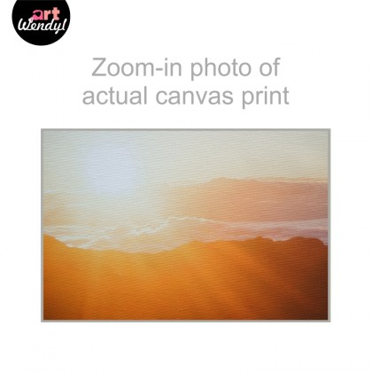 "Framed Art Print ""Bright Sun I"""