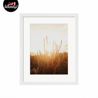 "Framed Art Print ""Bright Sun II"""