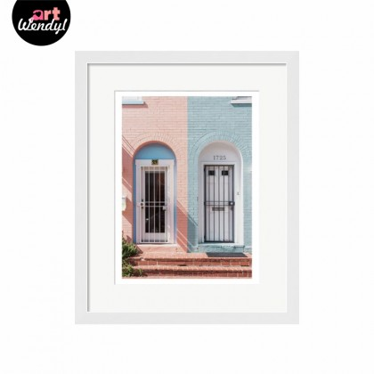 """Framed Art Print """"Embark On A New Journey I"""""""