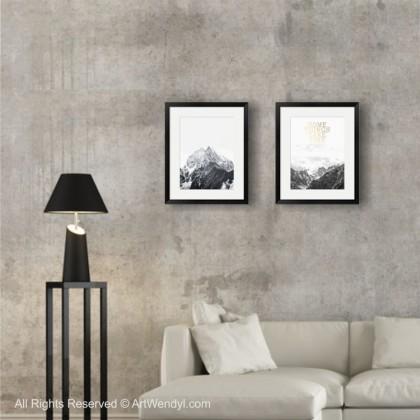 "Framed Art Print ""Some Things Take Time"""