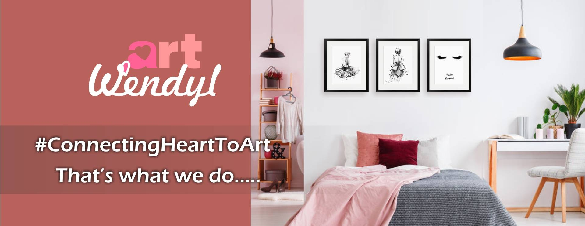Connecting Heart To Art